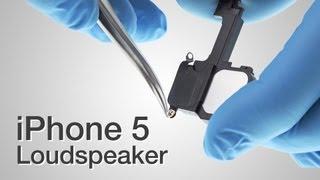 Loud Speaker Repair - Iphone 5 How To Tutorial