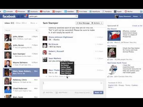 Find out who is reading your facebook messages and group posts