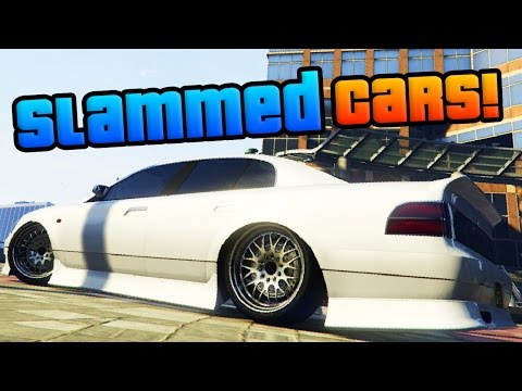 GTA Online: The Best Slammed Cars - Slammed/Lowered Car Showcase! (GTA 5 Best Cars)