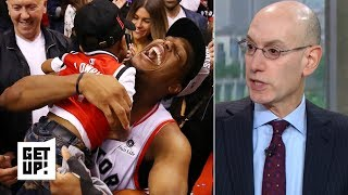The NBA is 'thrilled' to have the Raptors in the Finals – Adam Silver   Get Up!