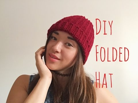 How To Crochet A Beanie for Beginners!