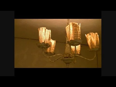 Chic on the Cheap: Make a Paper Lamp Shade