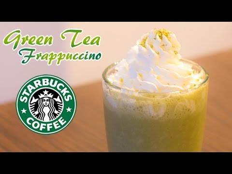 How to Make a Starbucks Green Tea Frappuccino