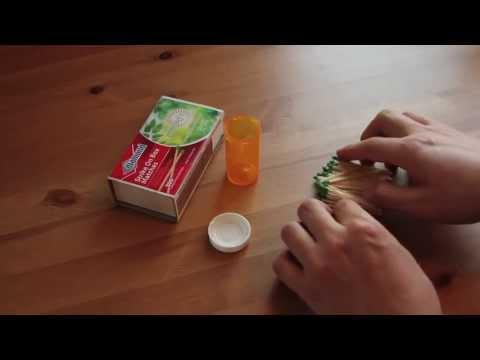 DIY Waterproof Match Kit Tutorial