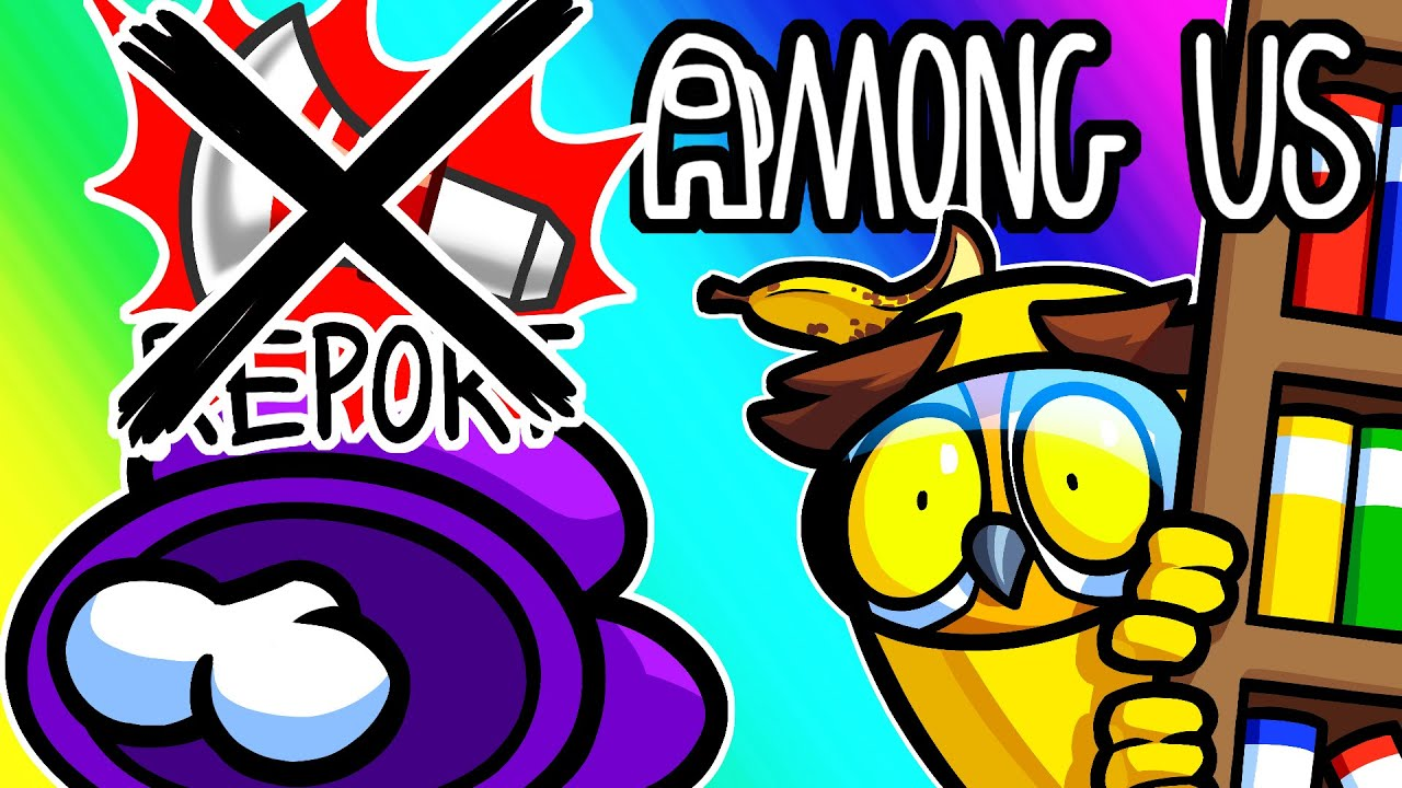 Among Us Funny Moments - Hide and Seek Without Reporting! (Proximity Chat)