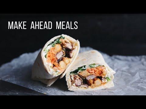 Make Ahead Vegan Meal Ideas!