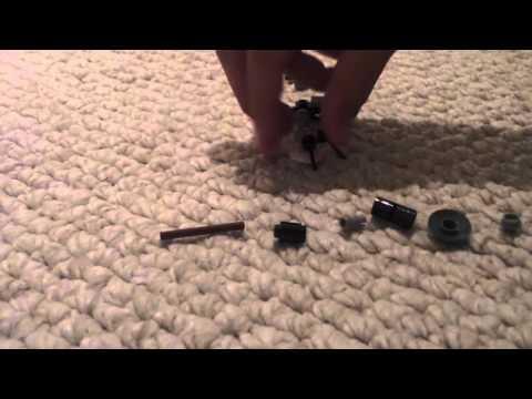 Lego machine gun for minifigures