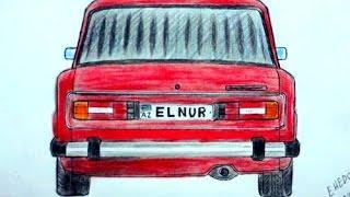 Vaz 2106 masini nece cekmek lazimdir(Ehedov Elnur)Как нарисовать ВАЗ-2106 поэтапно_рисуем шестерку  Production Music courtesy of Epidemic Sound!
