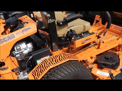 Scag Zero Turn Mower Overview with Cheetah, V Ride and Turf Tiger 2