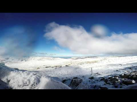 GoPro Hero3+ Black Edition: Snowboarding and Hiking on Ben Lomond Tasmania