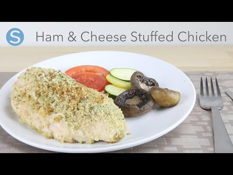 Easy Ham And Cheese Stuffed Chicken Dinner Recipe | Simplemost