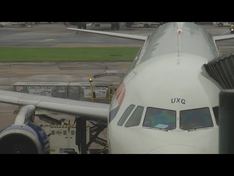 Full flight video on British Airways 1389 Manchester to London Heathrow airport