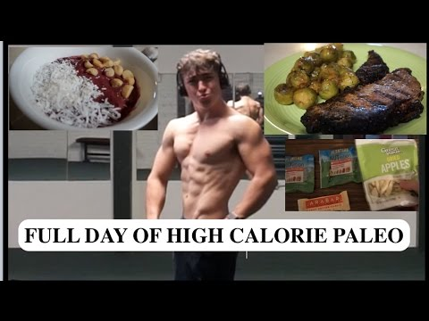 PALEO DAY OF EATING FOR BODYBUILDING