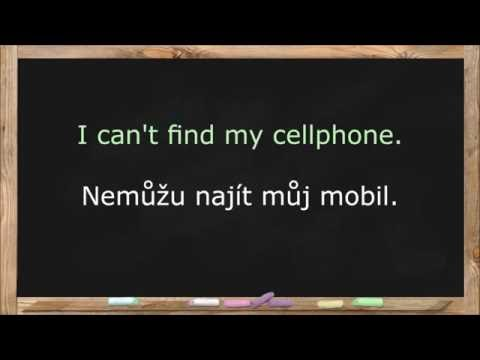 Learn Czech Language. Czech Lessons for Beginners. Common Words & Basic Phrases - Lesson 2