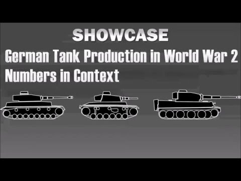 Showcase: German Tank Production in World War 2
