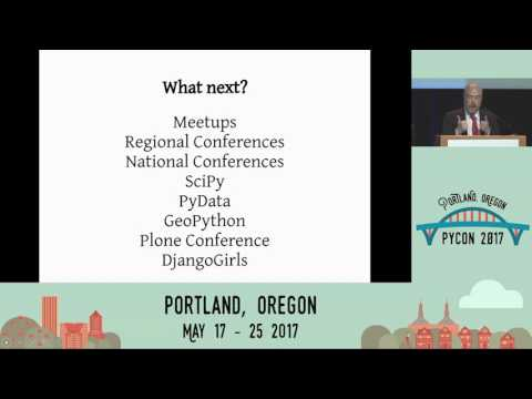 Final remarks and conference close  - Pycon 2017
