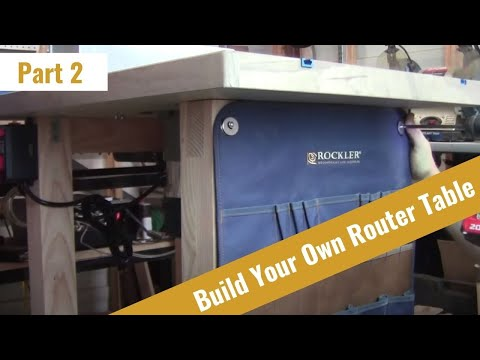 How to Build a Router Table Part 2