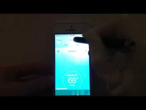 How to change city on Accuweather IPhone