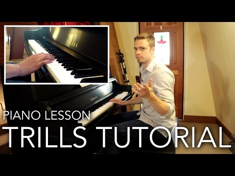 How to play Lightning-Fast Trills on Piano (1 of 2)