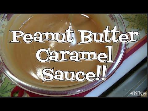Peanut Butter Caramel Sauce Experiment!!  Noreen's Kitchen