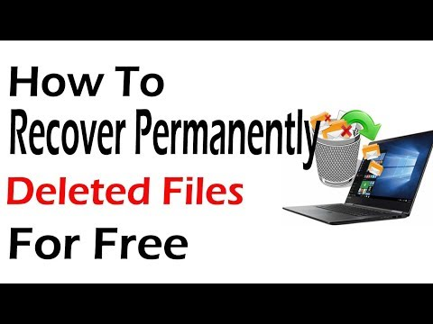 How To Recover Permanently Deleted Files For Free on Windows 10