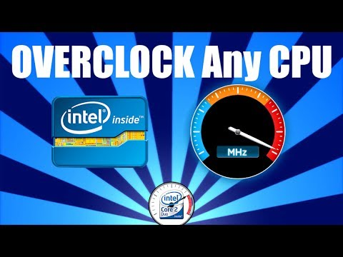OVERCLOCK Any CPU without any software 🚀💻