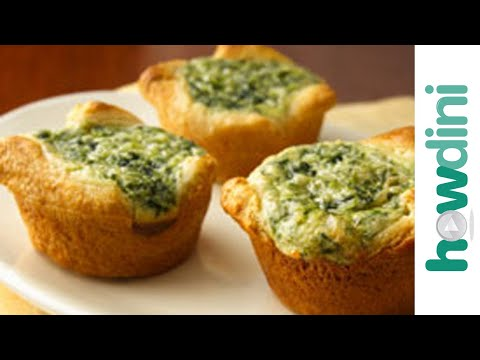 Simple quiche recipes - How to make mini quiches