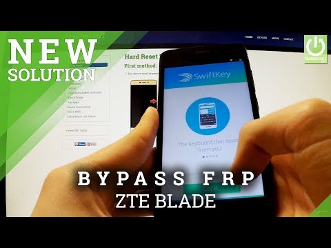 Bypass Google Account Protection in ZTE BLADE - How to