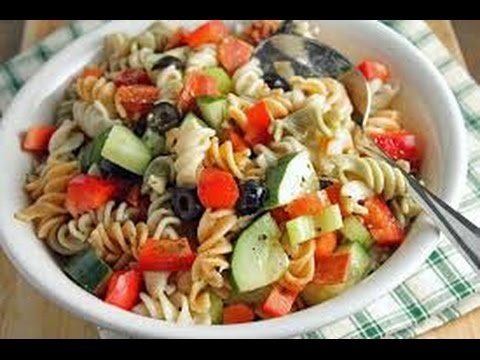 How to Make an Italian - American Pasta Salad
