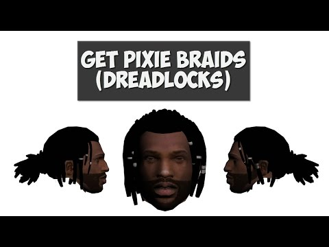 GTA San Andreas: How to get Pixie Braids (Dreadlocks) Mod