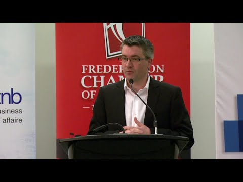Kris Austin - Fredericton Chamber of Commerce 2018 Leaders Series