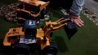 Unboxing Escavadora Huina Toys 16 Canales Rc En Español