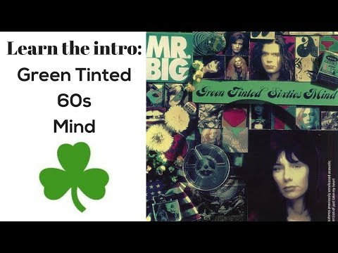 Learn the Intro to Green Tinted 60s Mind (for St. Patrick's Day) - Steve Stine