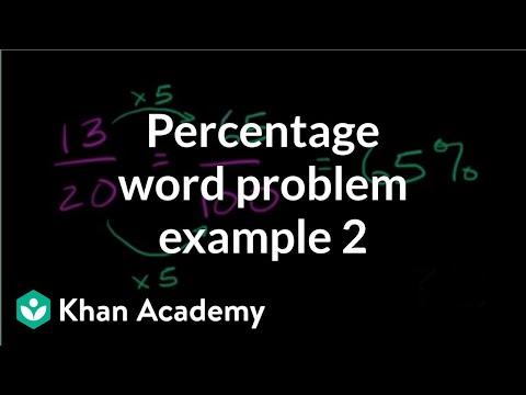 Percent word problem example 2 | Decimals | Pre-Algebra | Khan Academy