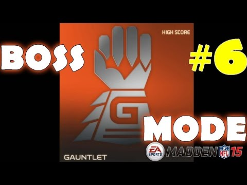 Gauntlet Boss #6 in Madden NFL 15