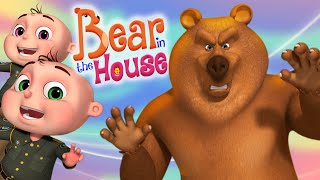 Bear In The House (Single) Episode   Cartoon Animation For Children   Zool Babies Series  Kids Shows