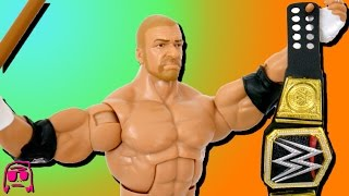 Triple H WWE Wrestlemania 33 Elite Mattel Toy Review!!