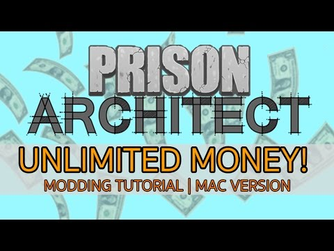 Prison Architect | Unlimited Money (Mac Version) No Mods, Step by Step guide