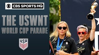 Women's World Cup soccer champions celebrate fourth title in New York City | CBS Sports HQ