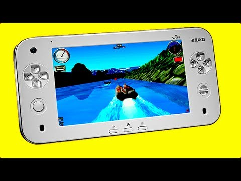ANDROID GAMING TABLET - JXD S7100 Review