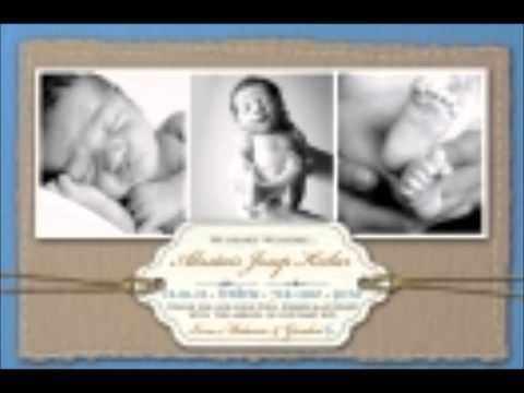 How to Make Christening Invitations