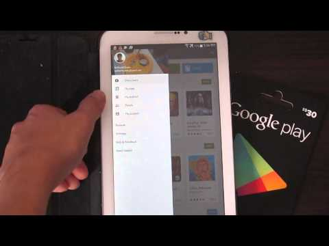 How To Redeem a Google Play Gift Card