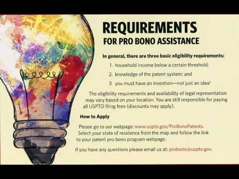 Free Patent Services Through US Government Program