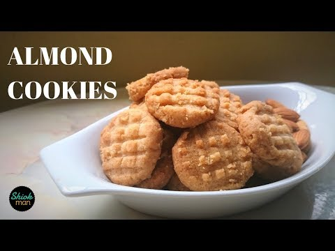 Shiokman Almond Cookies ( Melt-in-the-Mouth )