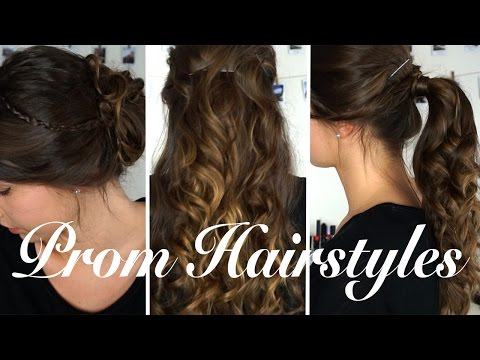 Easy DIY Prom Hairstyles 2017 | Olivia Mecca