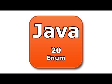 Java Tutorial - 20 - Enum