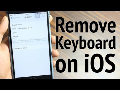 How to Delete Keyboard on iPhone and iPad