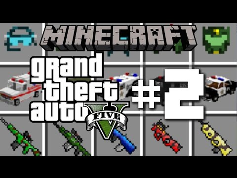 GTA 5 IN MINECRAFT!! #2