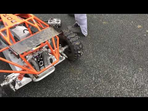 Home Made 4 Stroke RC buggy 200cc - HUGE