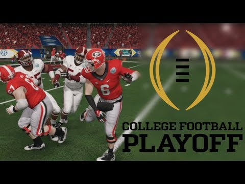 College Football Playoff Semi Final vs. Alabama Crimson Tide (The ULTIMATE Player Career)